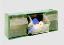 Plastové boxy pro uspořádání místa ve skladu